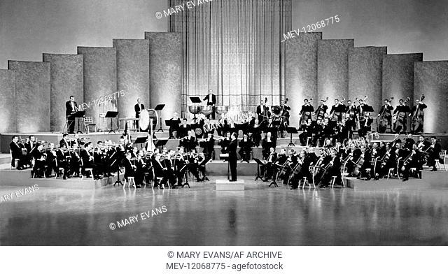 Jose Ferrer & Orchestra Characters: Sigmund Romberg Film: Deep In My Heart (1954) Director: Stanley Donen 09 December 1954