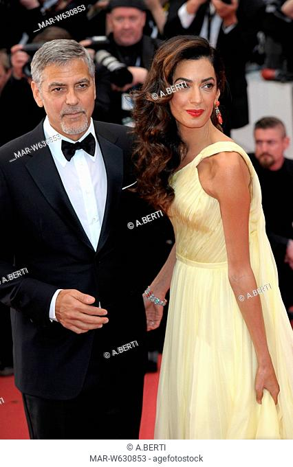 George Clooney, Amal Alamuddin, 69 cannes film festival 2016
