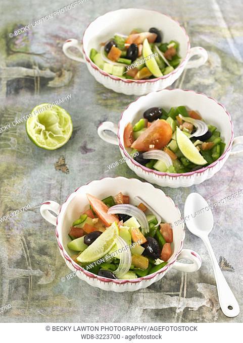 ensalada griega / Greek salad