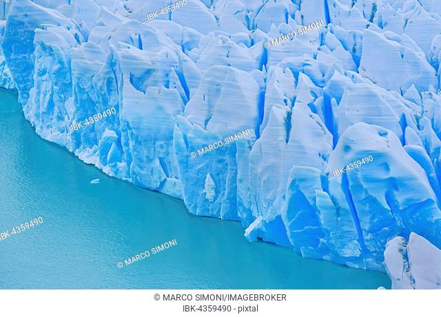 Ice sheet of Grey Glacier at Lago Grey Lake, Torres del Paine National Park, Patagonia, Chile