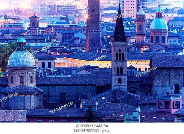 S. Bartolomeo and Gaetano church at dusk