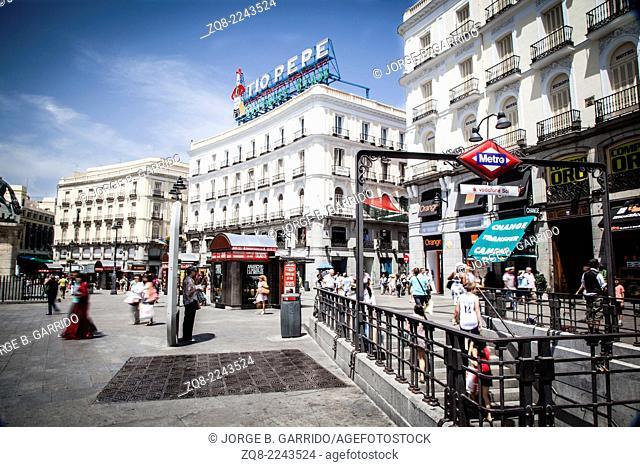 Madrid city centre, Puerta del Sol
