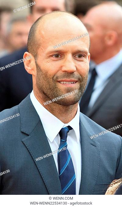 European Premiere of 'Spy' at the Odeon Leicester Square - Arrivals Featuring: Jason Statham Where: London, United Kingdom When: 27 May 2015 Credit: WENN
