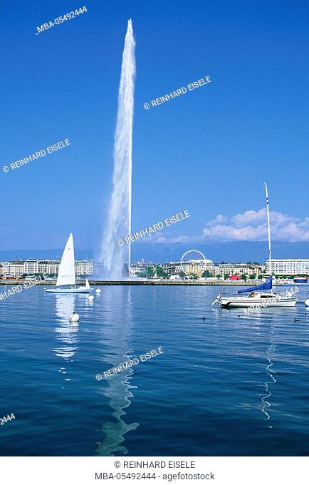 Geneva, Switzerland, Lake Geneva
