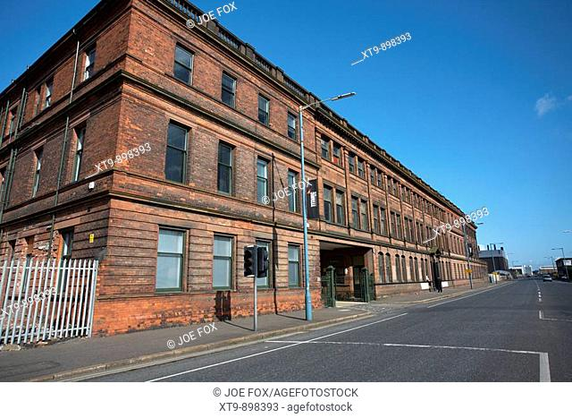 Harland and Wolff drawing office, titanic quarter, belfast city centre, northern ireland, uk