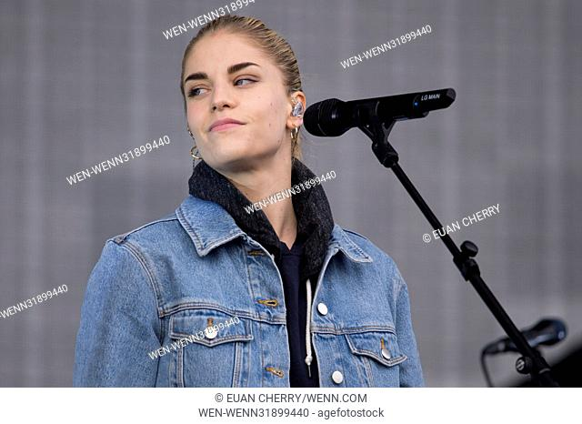 Inaugural TRNSMT Festival with live bands at Glasgow Green in Glasgow from 7th - 9th July. Featuring: Hannah Reid, London Grammar Where: Glasgow