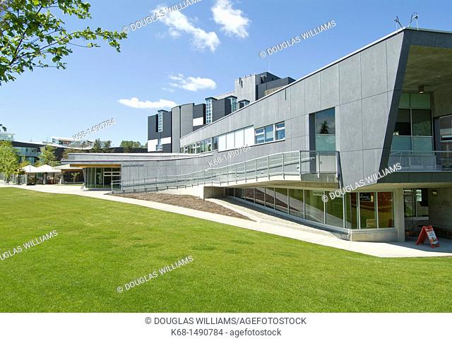 Student union building at Langara College, Vancouver, BC, Canada