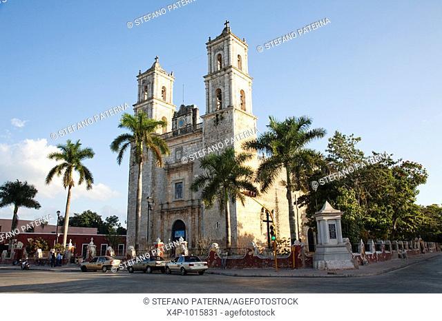 San Gervasio Cathedral, Valladolid, Yucatan, Mexico