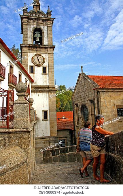 churches of San Gonzalo and Santo Domingo, Amarante, Portugal