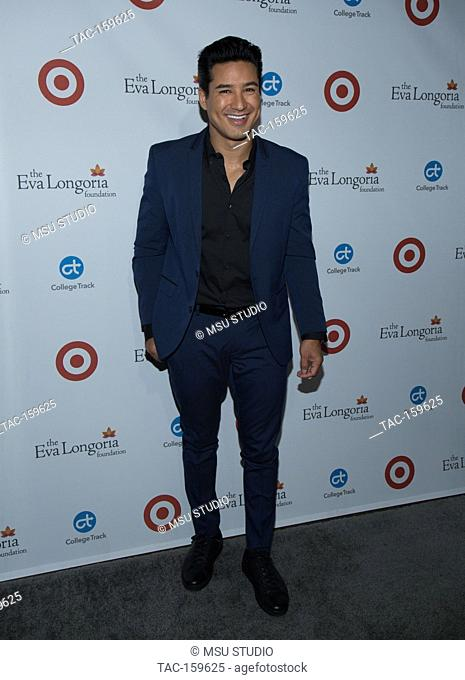 Mario Lopez attends the 6th Annual Eva Longoria Foundation Dinner at Four Seasons Hotel Los Angeles at Beverly Hills on October 12, 2017 in Los Angeles
