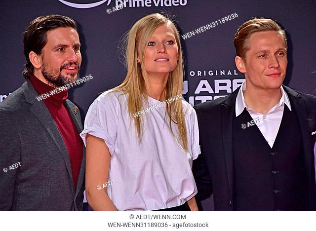 World premiere of 'You Are Wanted' Amazon original series at CineStar Sony Center at Potsdamer Platz square. - Arrivals Featuring: Tom Beck, Toni Garrn