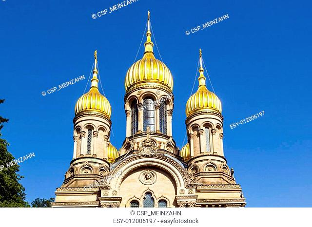 Russian orthodox chapel Wiesbaden, Germany