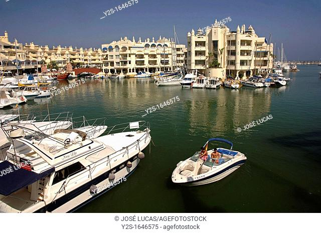 Marina, Benalmadena, Malaga-province, Region of Andalusia, Spain, Europe