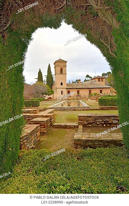 Parador Nacional in convent of San Francisco, La Alhambra, Granada, Spain