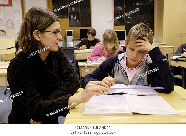 Lesson in preliminary school
