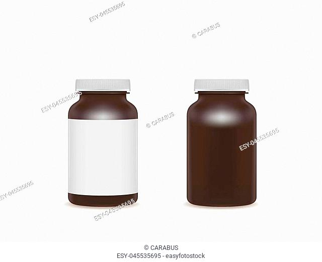 Different color cosmetic capsules of vitamin or fish oil. Golden antibiotic gel pill icon template. Vector realistic serum droplet of collagen essence eps 10