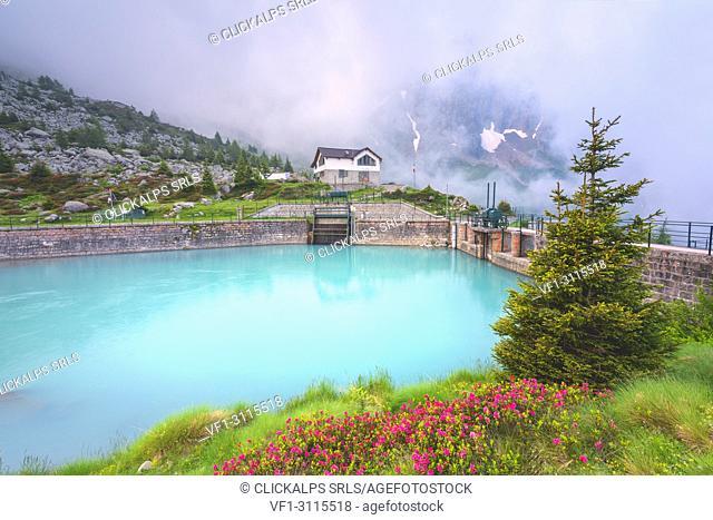 Adame Valley in Adamello park, Lombardy district, Brescia province, Italy