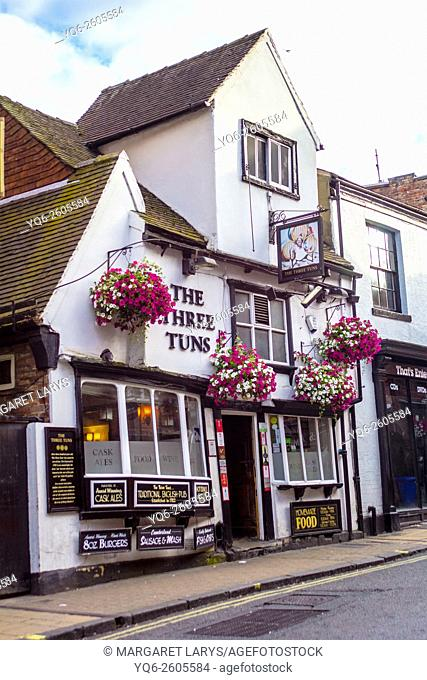 The Three Tuns pub, York, Yorkshire, England, UK, Europe