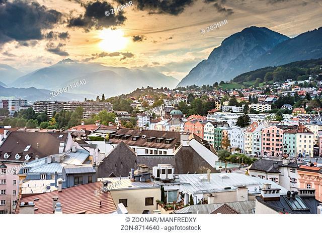 Innsbruck cityscape