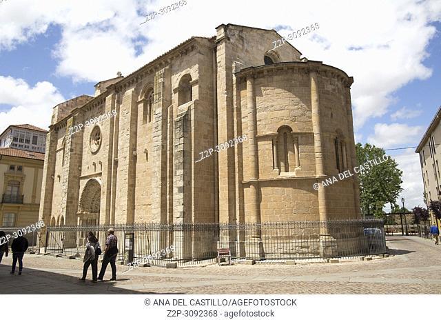 St Magdalena romanesque church in Zamora Castile Leon Spain
