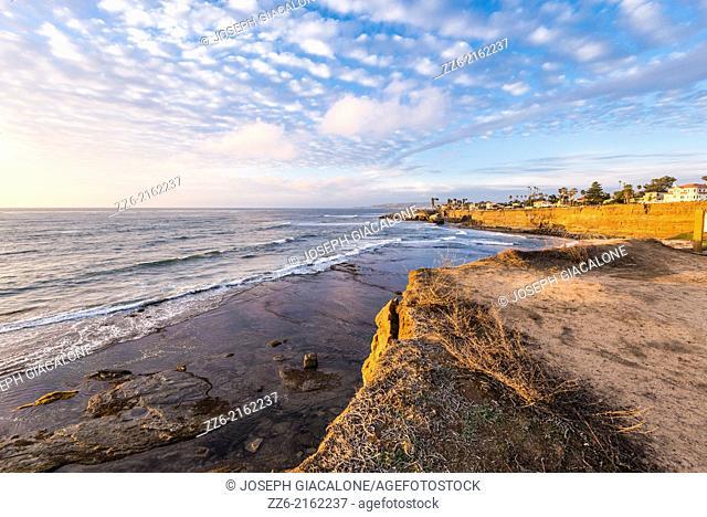 Sunset Cliffs Natural Park. San Diego, CA, USA