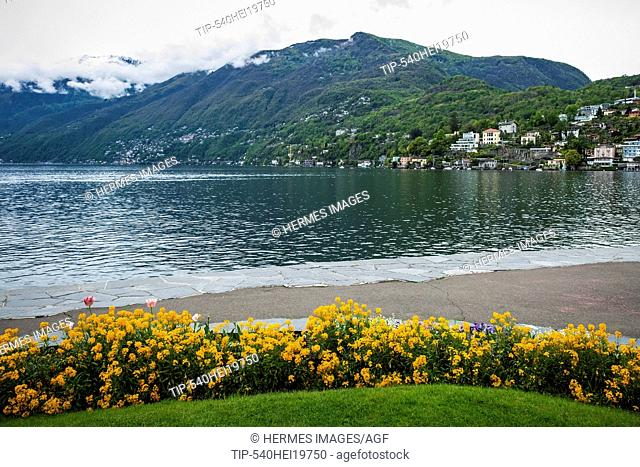 Switzerland, Canton Ticino, Ascona, landscape