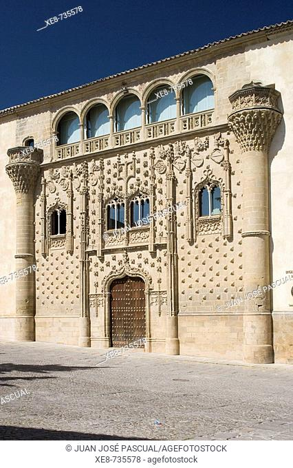 Jabalquinto Palace (16th century), Baeza. Jaen province, Andalucia, Spain