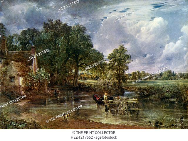 'The Hay Wain', 1821, (1912). A colour print from Famous Paintings, with an introduction by Gilbert Chesterton, Cassell and Company, (London, New York, Toronto