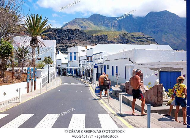 -Agaete Village- Canary Island Spain