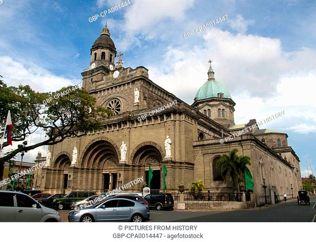 Philippines: Manila Cathedral, Intramuros, Manila