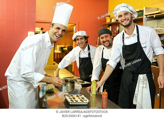 Chefs. Restaurant. Ficoba, Basque Coast International Fair. Irun. Gipuzkoa. Basque Country. Spain