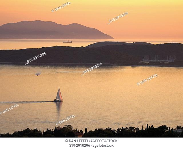Hvar Island Croatia Sunset