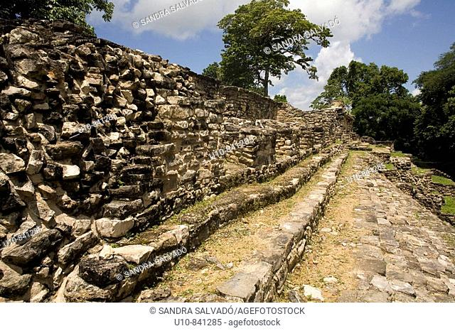 Yaxchilán archaeological site. Usumacinta river. Lacandon Forest. Chiapas. Mexico