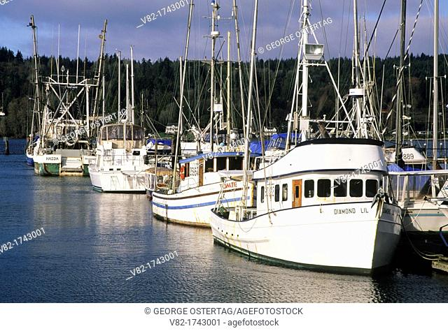 Marina, Poulsbo, Washington