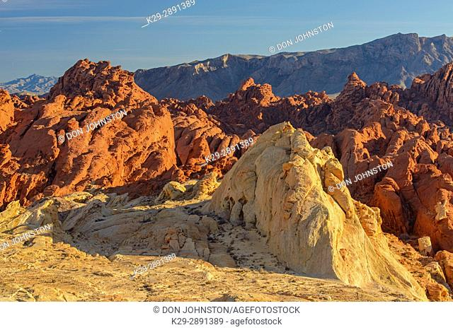 Fire Canyon, Valley of Fire State Park, Nevada, USA