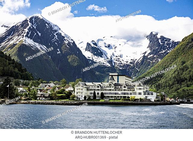 Kviknes Hotel along the Sognefjord in Norway