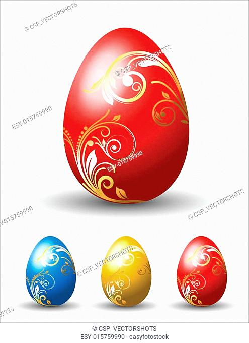 Easter Decoratives Eggs