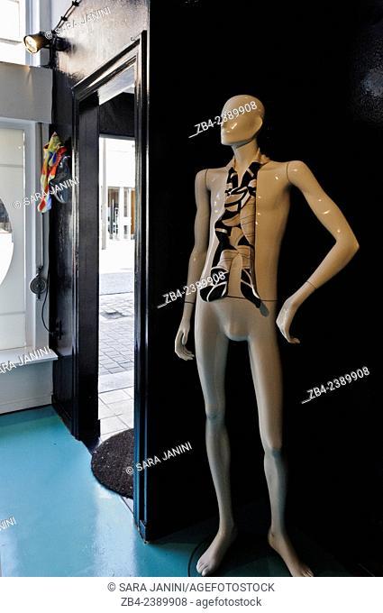 Maison Romy Smits, design studio for conceptual fashion, interior and art of Belgian designer Romy Smits, St. Jorispoort 18, Antwerp, Belgium, Europe