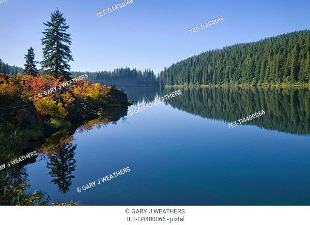 USA, Oregon, Clear Lake