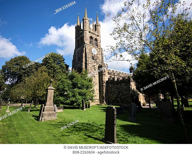 St John the Baptist Church at Tideswell,peak district,derbyshire