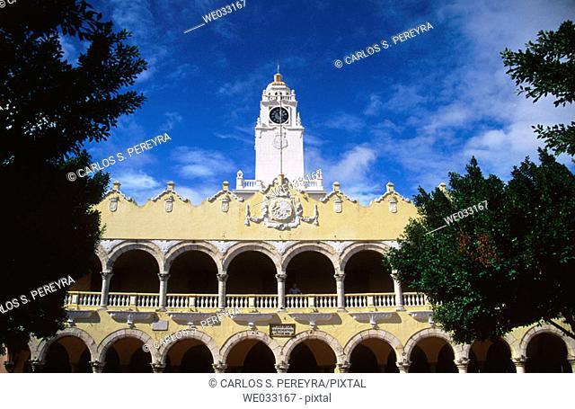 City Hall, Mérida. Yucatán, Mexico