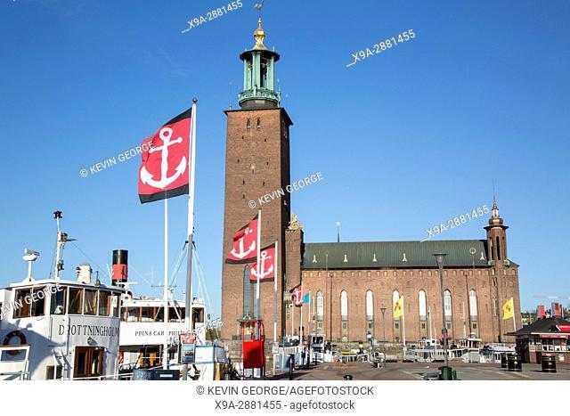 City Hall - Stadshuset; Stockholm, Sweden; Europe