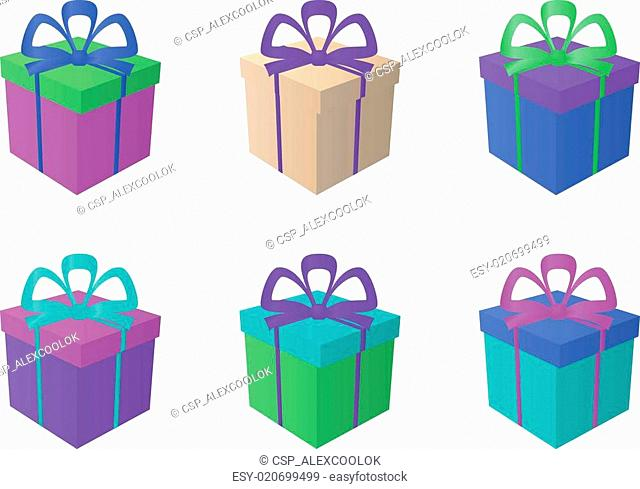 Gift boxes, square