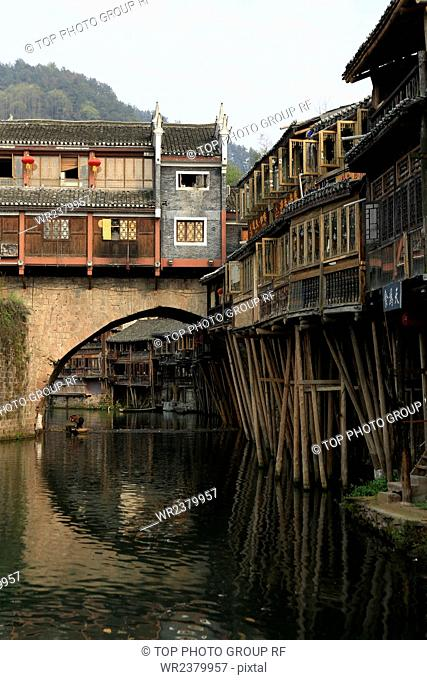 Hunan Province Fenghuang County Fenghuang Ancient City