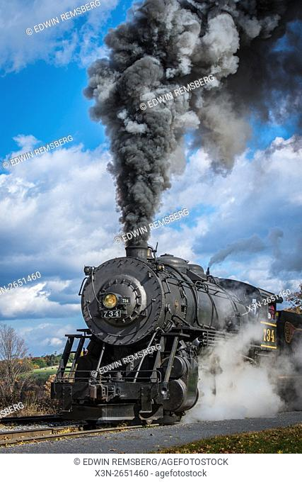 Scenic railroad in Cumberland, maryland