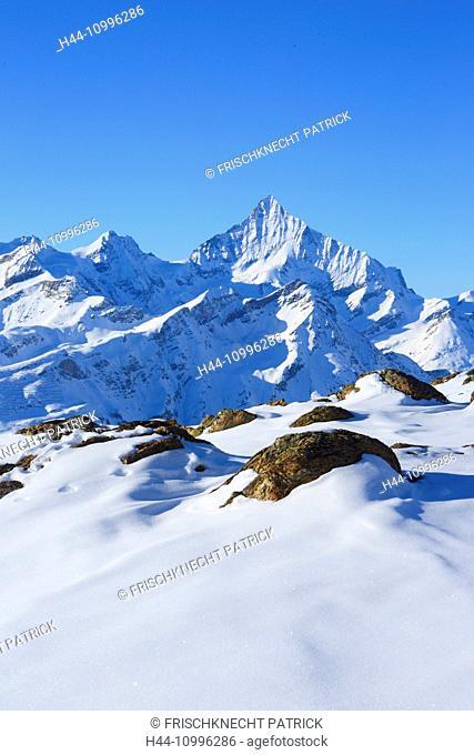 Weisshorn - 4505 ms, Zermatt, Valais, Switzerland