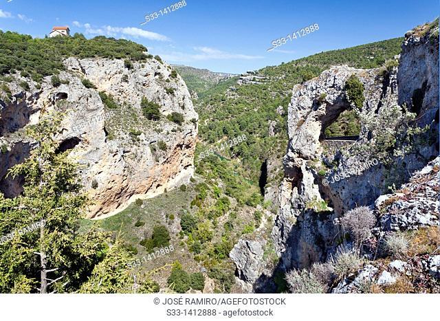 The Ventano del Diablo  Serranía de Cuenca  Castilla la Mancha  Spain