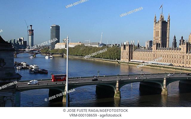 UK, London City, The City of Westminster, Houses of Parliament, Big Ben