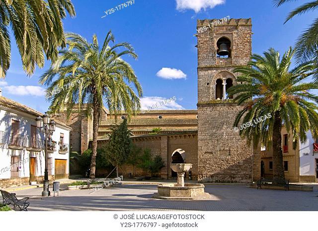 Church of Santa Maria de la Granada, 13th century, Niebla, Huelva-province, Spain