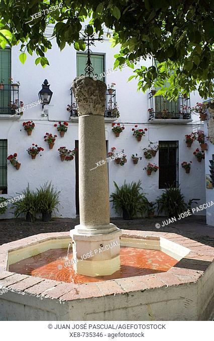 Plazuela de las Flores, Cordoba. Andalucia, Spain